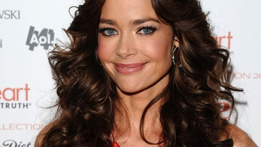 Feb. 9: Denise Richards at the Heart Truth's Red Dress Fashion Show. (AP)