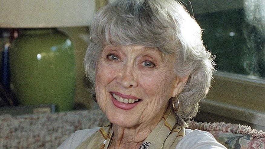 Actress Betty Garrett poses at her home in Los Angeles on in this Dec. 16, 1997 file photo.