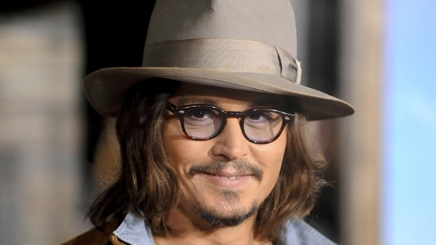 Johnny Depp. (Reuters)