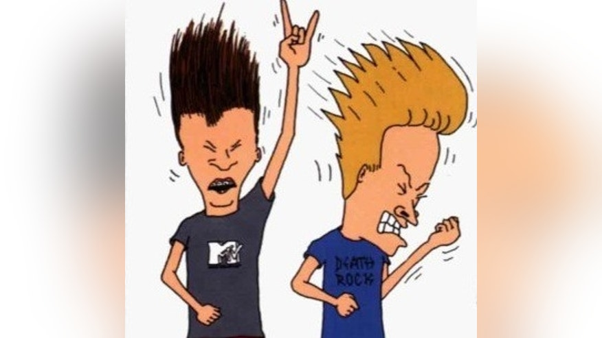 Beavis and Butthead. (MTV)