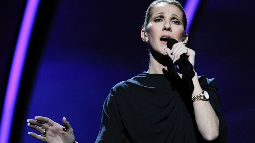 Feb. 25: Singer Celine Dion rehearses at the Kodak Theatre in the Hollywood section of Los Angeles ahead of Sunday's Academy Awards.
