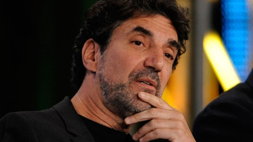 "Jan. 2010: Chuck Lorre, executive producer/co-creator of ""Two and a Half Men"" and ""The Big Bang Theory"", participates in the CBS Comedy Showrunner Q&A. (Reuters)"