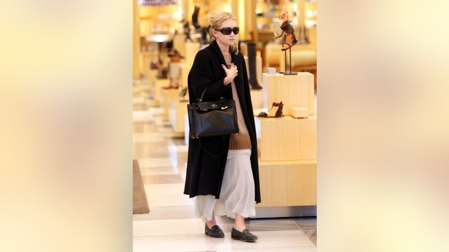 Ashley Olsen shopping at Barney's New York in Beverly Hills.  Nov 23, 2009 X17online.com EXCLUSIVE