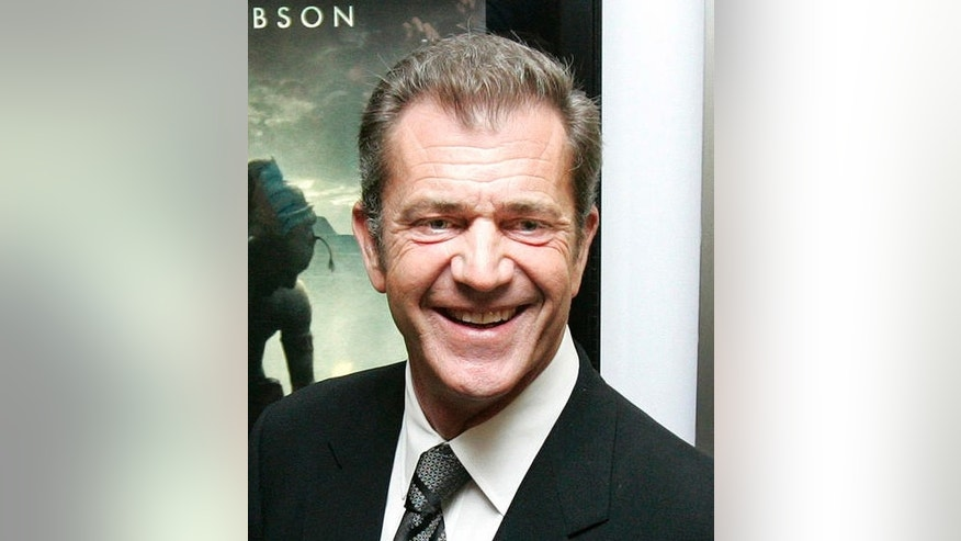 "** FILE ** Mel Gibson is shown during a private screening for his movie, ""Apocalypto,""  in Mexico City, in this  Jan. 15, 2007, file photo. Gibson exchanged heated words with a professor at at California State University, Northridge, following an on-campus screening of Gibson's latest film, ""Apocalypto."" on Thursday, March 22, 2007. Alicia Estrada, an assistant professor of Central American studies, accused the actor-director of misrepresenting the Mayan culture in the movie, observers said. Gibson directed an expletive at the woman, who was removed from the crowd, representatives for the actor and the school said. (AP Photo/Gregory Bull, file)"