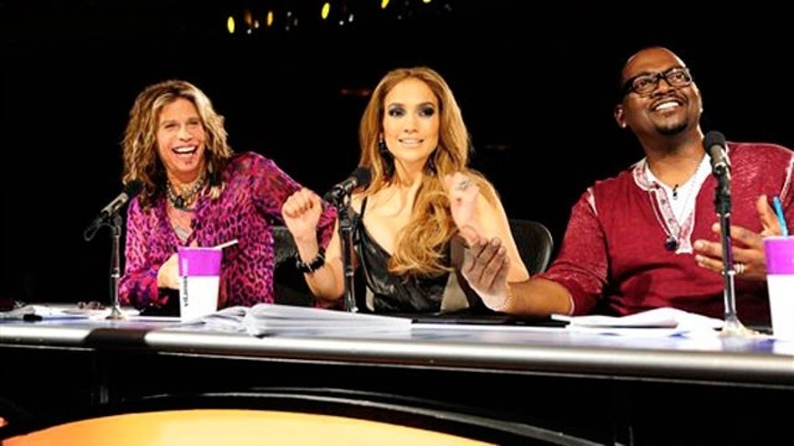 """American Idol"" judges Steven Tyler, Jennifer Lopez and Randy Jackson. (AP)"