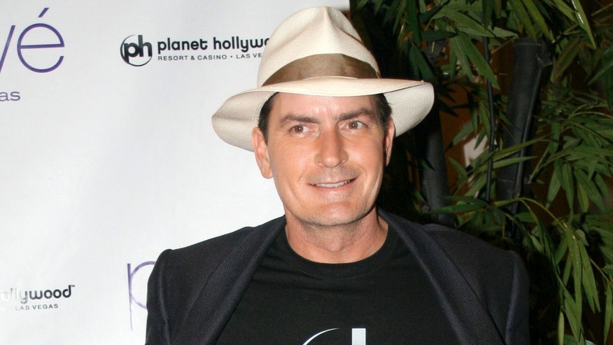 Charlie Sheen hosting a night at Prive in Planet Hollywood. October 26, 2008 X17online.com exclusive