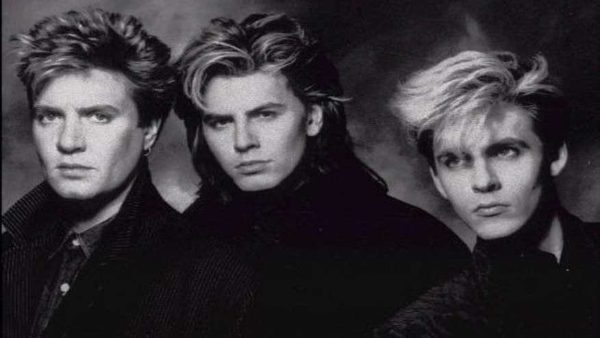 Duran Duran: (l-r) Simon LeBon, John Taylor and Nick Rhodes are seen in a 1989 photo. (AP)