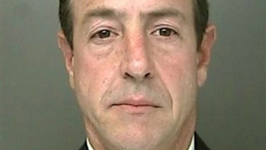 Michael Lohan is shown in this file photo following an arrest in April.