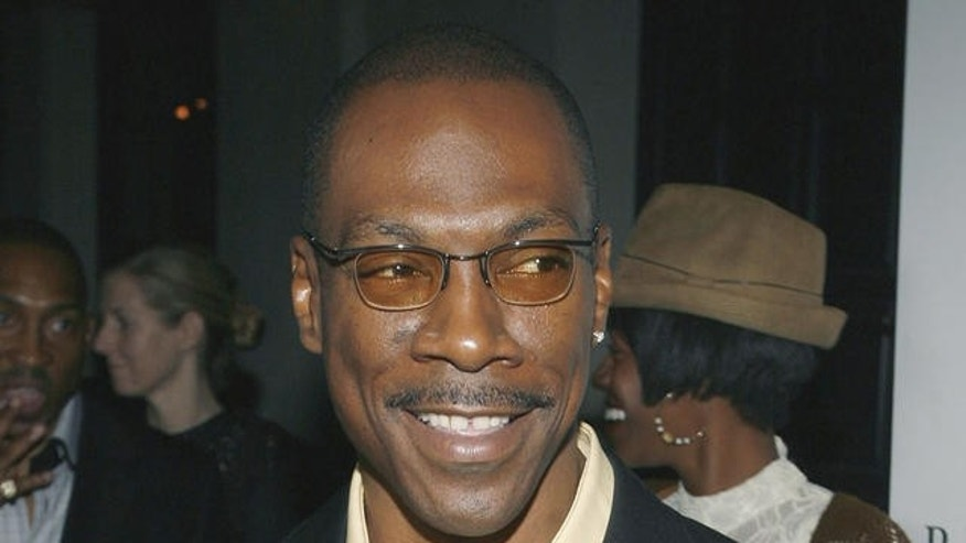 Actor Eddie Murphy arrives at the Our Stories Films launch party in the Hollywood section of Los Angeles on Tuesday, Oct. 10, 2006. (AP Photo/Matt Sayles)