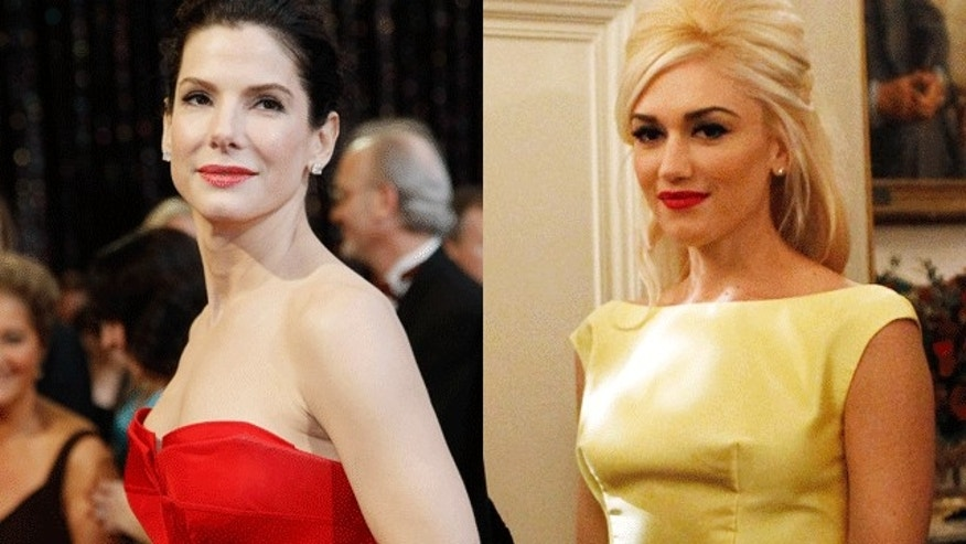 Sandra Bullock and Gwen Stefani. (Reuters)