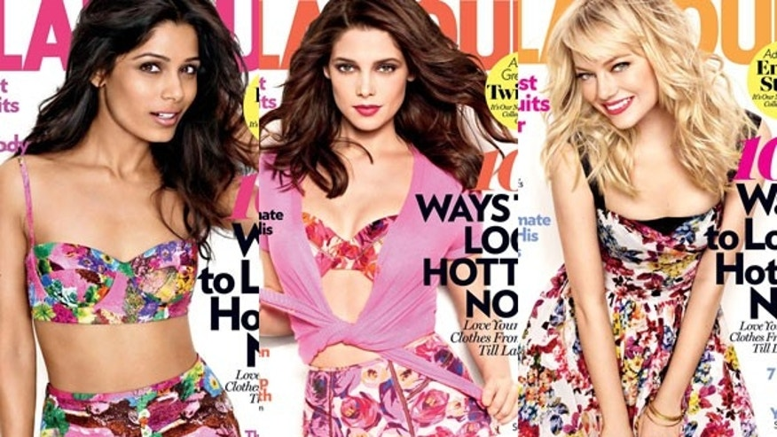 Good good girls grace the May covers of Glamour. (Glamour)