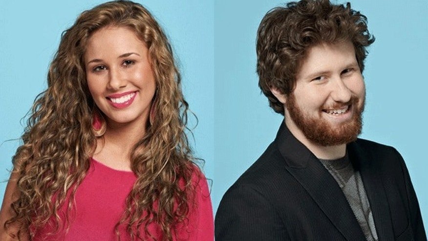 Haley Reinhart and Casey Abrams. (FOX)