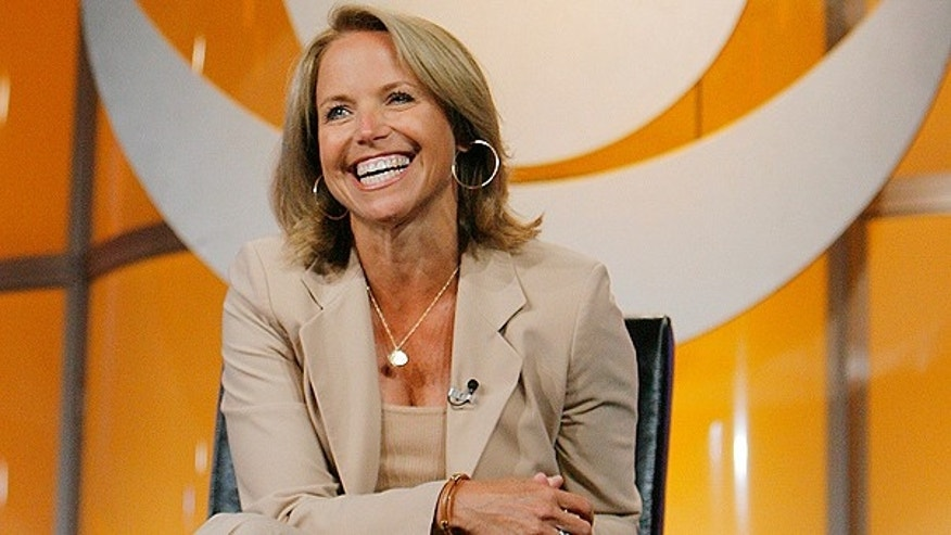 In this July 16, 2006 file photo, Katie Couric, CBS News anchor and correspondent, answers questions about her upcoming season anchoring 'CBS Evening News with Katie Couric' during a news conference in Pasadena, Calif.