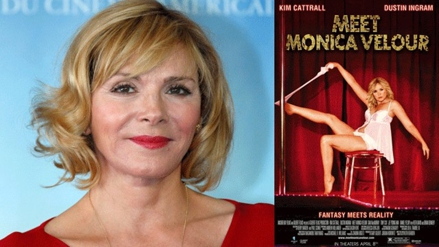 Kim Cattrall stars in 'Meet Monica Velour.' (Reuters)