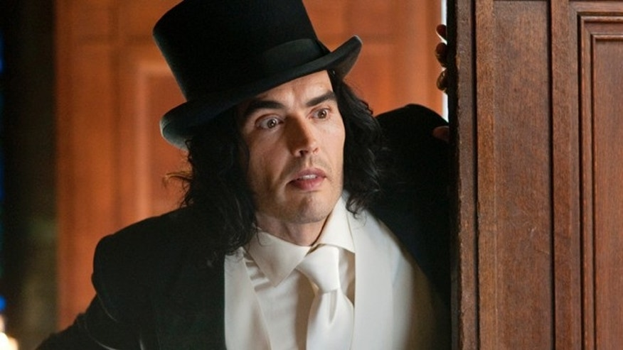 "April 7, 2011: In this film publicity image released by Warner Bros. Pictures, Russell Brand is shown in a scene from ""Arthur."""
