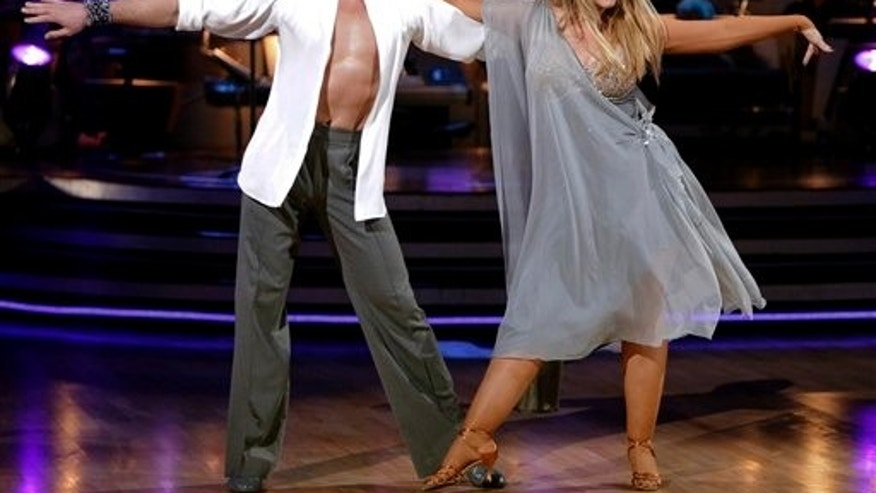 April 4: Maksim Chmerkovskiy and Kirstie Alley (AP)