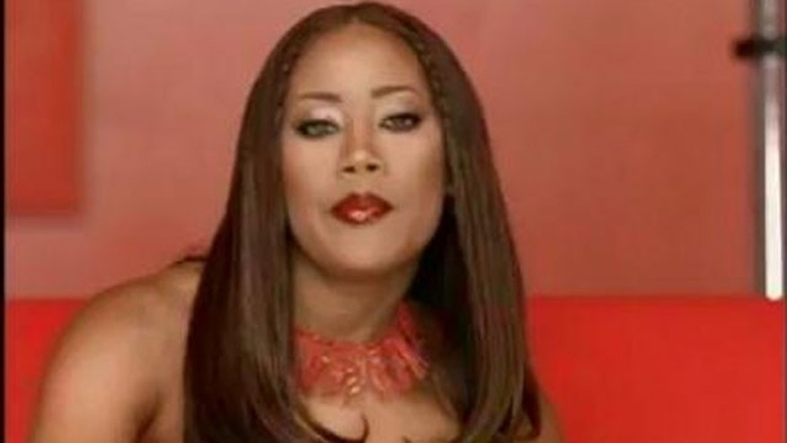 """Farrah Franklin in the video for """"Say My Name."""""""