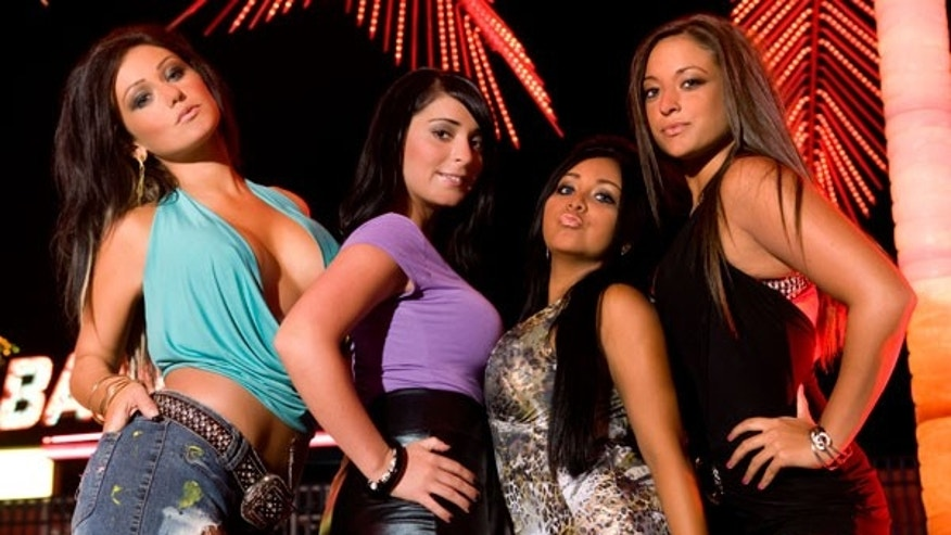 JWOWW, Angelina, Snooki and Sammi (MTV)