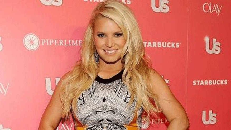 Jessica Simpson at the US Weekly party. (Picture Group)