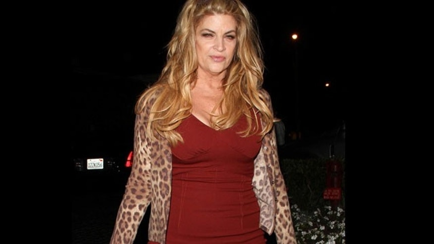 Kirstie Alley shows off a slimmer figure since 'Dancing With the Stars.' (X17 Online)