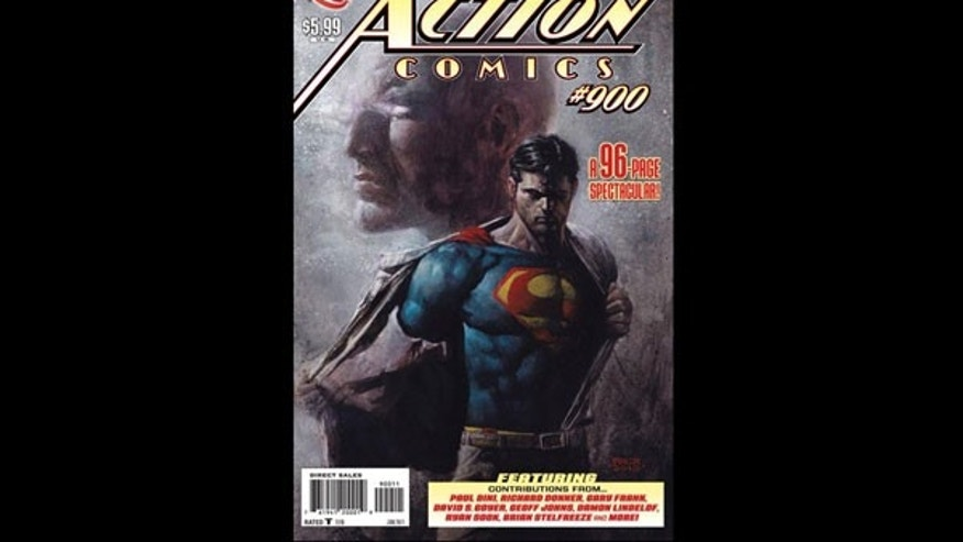 The 900th Issue of Action Comics