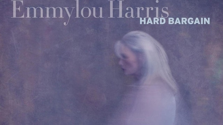 "Emmulou Harris' new album ""Hard Bargain."""