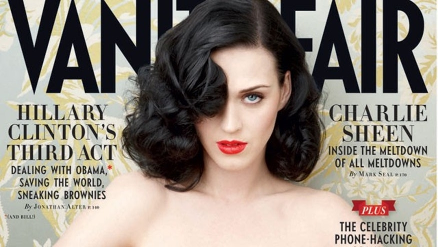 Katy Perry on the June issue of Vanity Fair. (Annie Leibowitz/Vanity Fair)