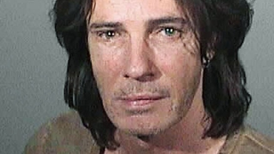 Rick Springfield is seen in his May 1 mug shot. (AP)