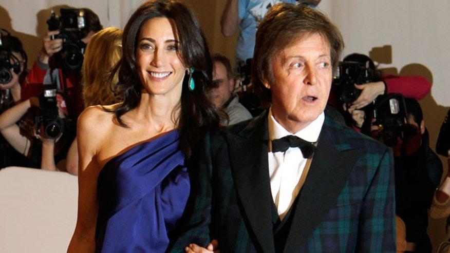 Nancy Shevell and Paul McCartney (Reuters)