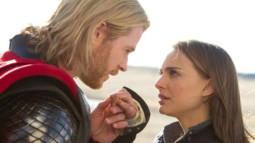 "Chris Hemsworth and Natalie Portman lead ""Thor"" to a strong weekend."