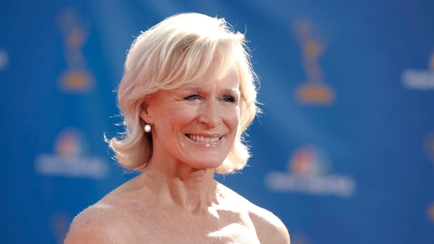 Actress Glenn Close the 62nd Primetime Emmy Awards Sunday, Aug. 29, 2010, in Los Angeles. (AP Photo/Chris Pizzello)