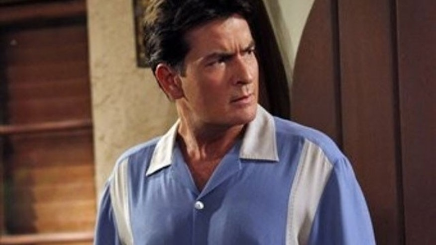 Charlie Sheen in 'Two and a Half Men' (AP)