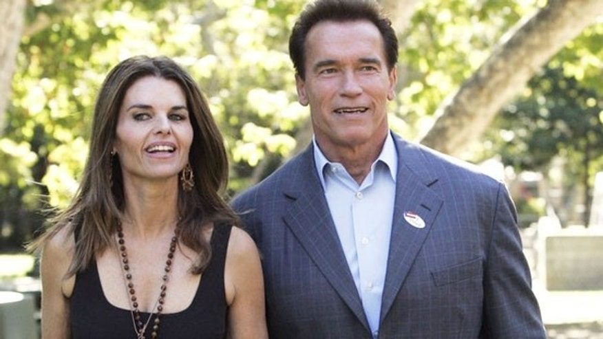 Maria Shriver and Arnold Schwarzenegger in 2006 (Reuters)