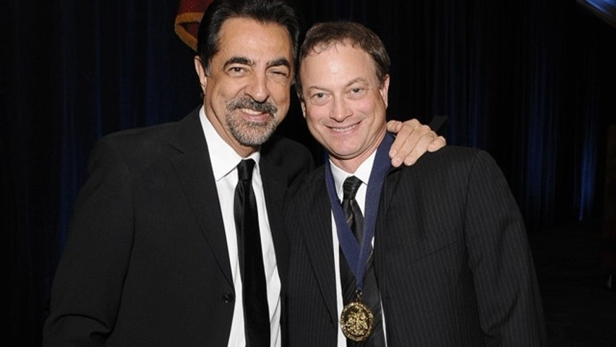Joe Mantegna and Gary Sinise. (NIAF)