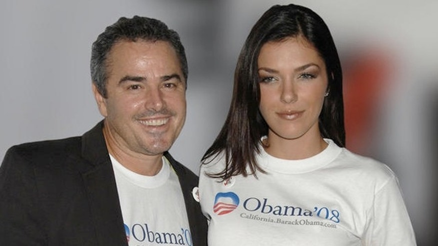 Christopher Knight and Adrianne Curry attends the Rock the Vote by Society clothing line nationwide launch party hosted by Christina Aguilera, held at Kitson, Tuesday, November 13, 2007 in Hollywood California.