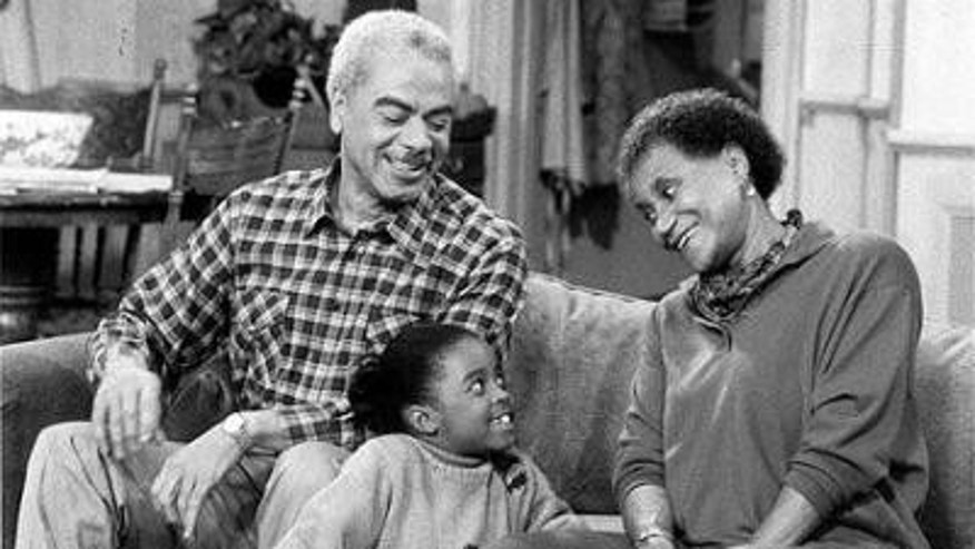 Clarice Taylor (right) in a scene from 'The Cosby Show' (AP)