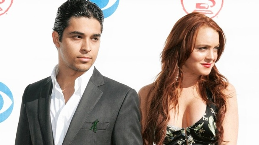 Wilmer Valderrama used dated Lindsay Lohan when she was 17. (Reuters)