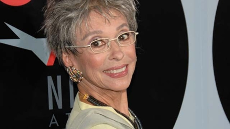 October 1, 2008:  Actress/singer Rita Moreno arrives at AFI's Night At The Movies presented by Target held at Arc Light Cinemas in Hollywood, Calif.