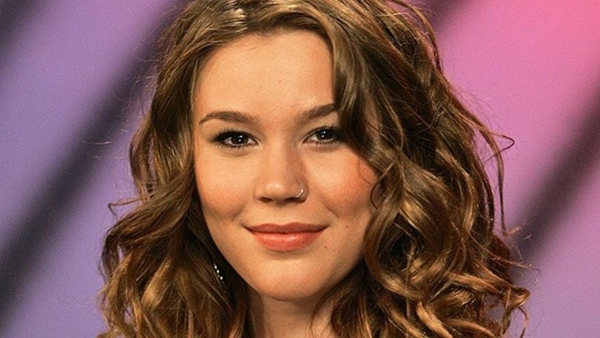 British singer Joss Stone is photographed after an interview, in this Oct. 20, 2008 file photo taken in New York.
