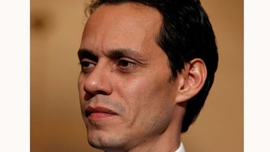 June 16, 2011: Singer Marc Anthony is being awarded with the first ever Sounding Off For a Cure Award for his efforts to find a brain cancer cure.