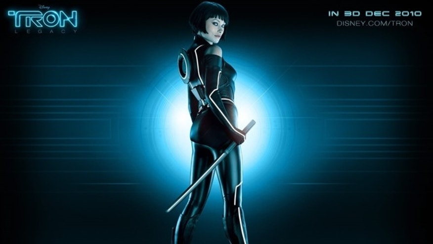 Olivia Wilde in 'Tron: Legacy.' (Disney)