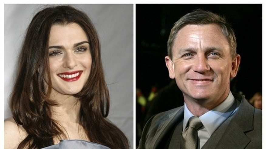 Actors Daniel Craig and Rachel Weisz are seen in this combination of file photographs. British actors Craig and Weisz have married, a U.S. representative for Craig said on Sunday. (Reuters)