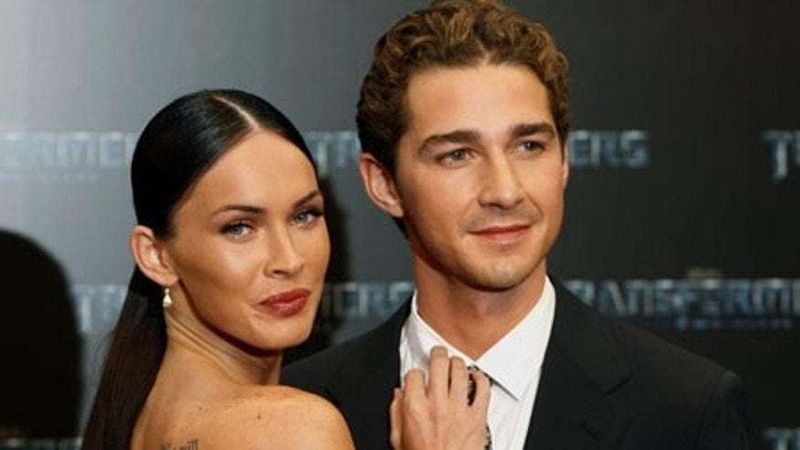 Megan Fox and Shia LaBeouf (AP)