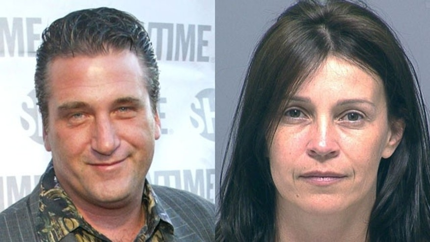 Daniel Baldwin and his wife Joanne in her mugshot from a DUI arrest Wednesday. (Reuters)