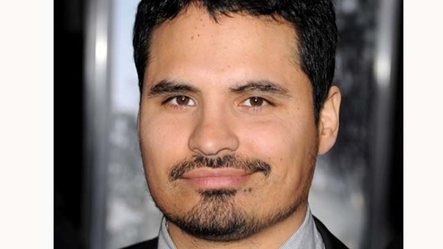 March 8, 2011: Actor Michael Peña arrives at the premiere of Columbia Pictures' 'Battle: Los Angeles' at the Village Theater in Los Angeles, Calif.