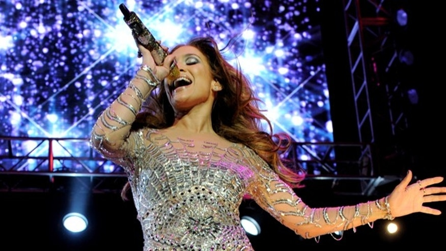 May 14, 2011: Singer Jennifer Lopez performs at KIIS FM's Wango Tango at the Staples Center in Los Angeles, Calif.