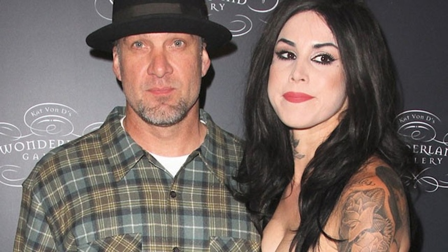 Jesse James and Kat Von D.(X17 Online)