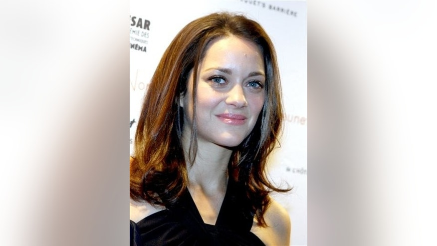 French actress Marion Cotillard attends at their presentation for Cesar's best actress 2009 in Paris, France. Saturday, Feb. 13, 2010. (AP Photo/Jacques Brinon)