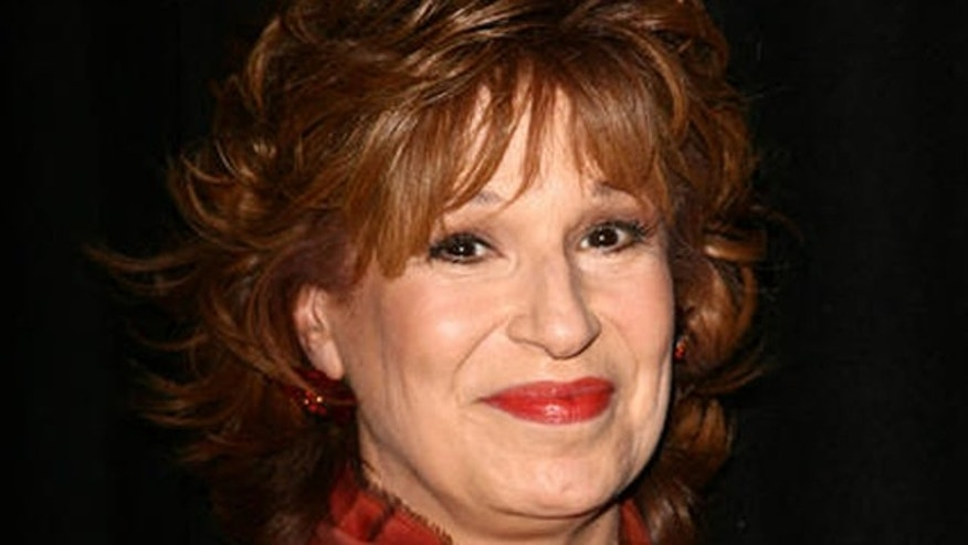 "Talk show host Joy Behar arrives at the opening reception for Rosie O'Donnell's art exhibition ""Solace"" at The Gallery at New World Stages Tuesday, Oct. 9, 2007 in New York. (AP Photo/Gary He)"