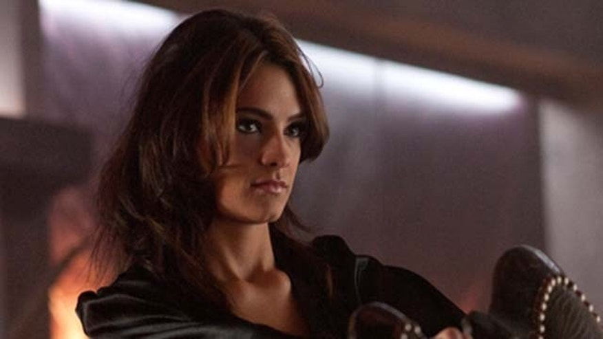 "Aug. 17, 2011: Sandra Vergara stars as ""Ginger"" in ""Fright Night"" out on Friday."